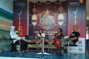 Bincang Ramadhan SmartFM Bersama Desainer Balikpapan